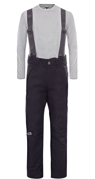 The North Face Boy's Snowquest Suspender Pant TNF Black